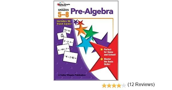 Pre-Algebra, Grades 5 - 8: Carson-Dellosa Publishing ...