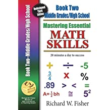 Mastering Essential Math Skills Book 2 Middle Grades/High School New Redesigned Library Version with companion DVD