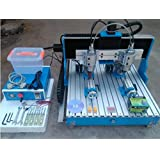 GOWE double spindle 4axis cnc router with linear guide rail mini cnc milling machine