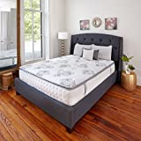 Classic Brands Mercer Pillow-Top Cool Gel Memory Foam and Innerspring Hybrid 12-Inch Mattress, Twin