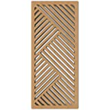 Nish 'Deco Panel' Collection Natural Wood Wall Hanging
