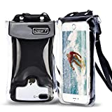 Waterproof Phone Pouch Floating, Cell Phone Dry Bag Pouch for All iPhone/Samsung/LG/MT/Huaiwei Series (Black6)