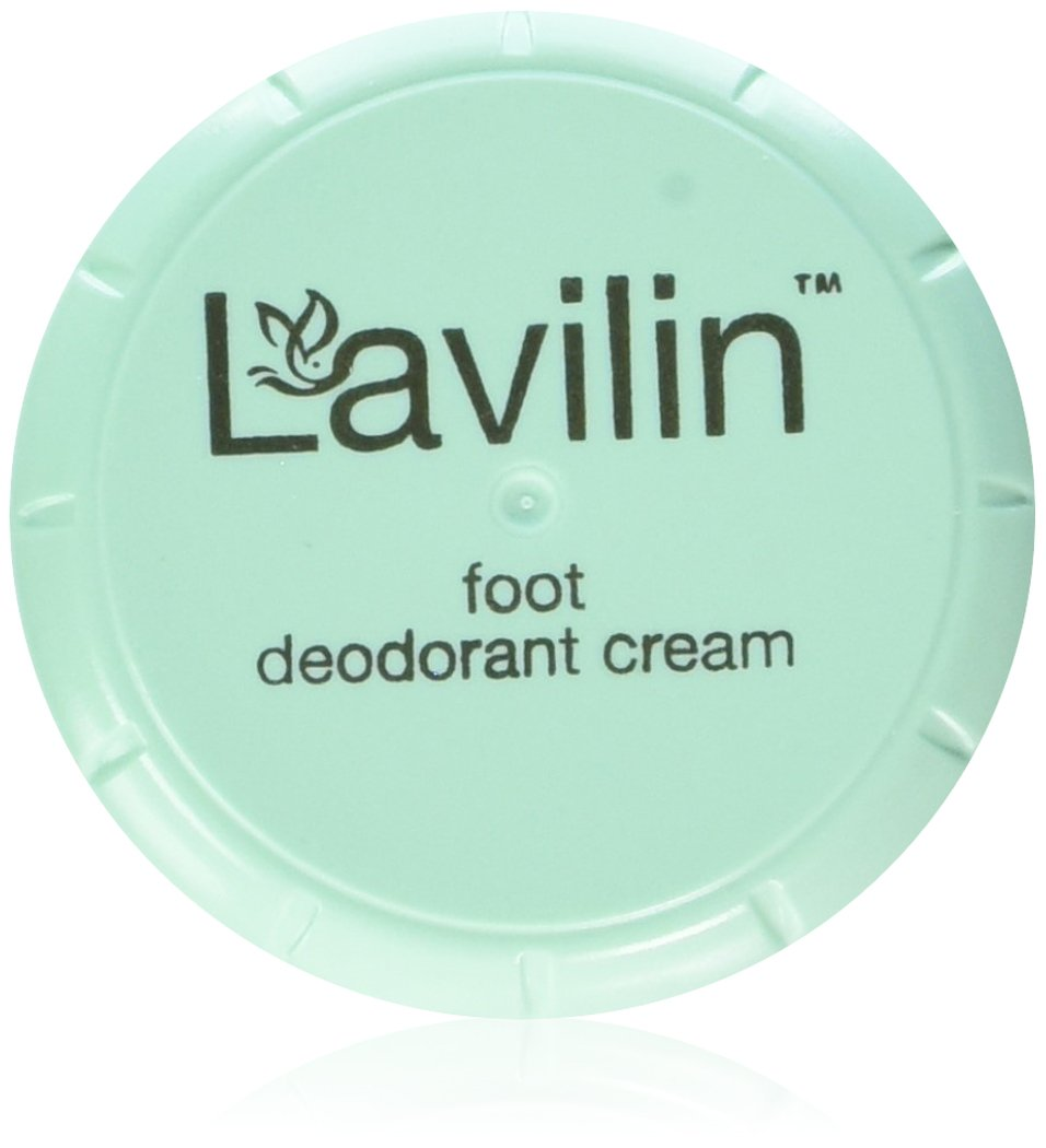 Lavilin Foot Care Award Winning Foot Deodorant Cream, 12.5 Grams 024345000068