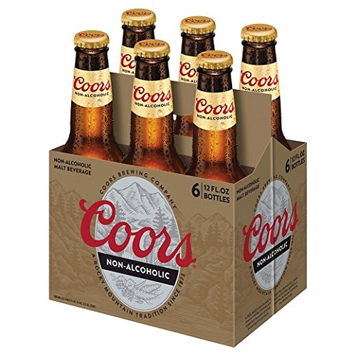 Coors Non-alcoholic Beer (6 Bottles)