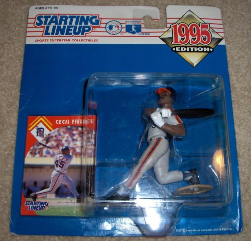 1995 Edition Starting Lineup MLB Baseball Sports Collectible Cecil Fielder Action Figure