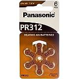 60 Panasonic Hearing Aid Batteries Size: 312