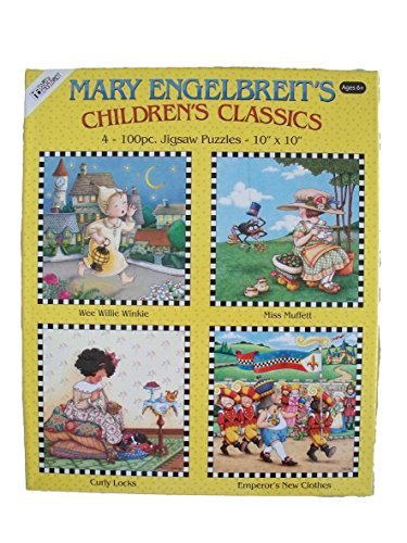 Mary Englebriet Classic 100 Piece Jigsaw Puzzle 4-Pack