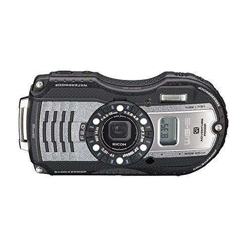 RICOH waterproof digital camera WG-5GPS gunmetal waterproof 14m withstand shock 2.2m cold -10 degrees 04651 by Ricoh (Image #3)