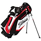Titleist Lightweight Stand Bag, Black/White/Red