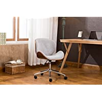Porthos Home Branson Adjustable Office Chair , Grey
