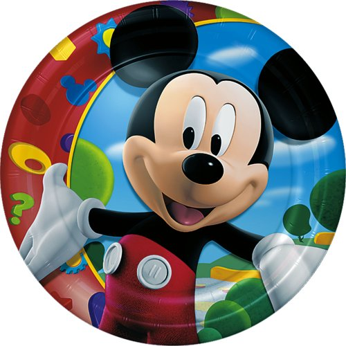 Mickey's Clubhouse Lunch Plates 8ct -