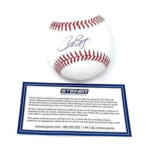 (Alex Bregman Houston Astros Signed Autograph Official MLB Baseball Steiner Sports Certified)