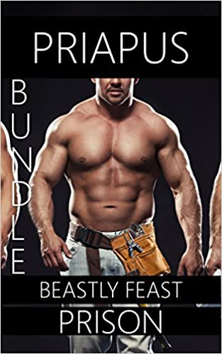 Ebooks gratis para zum Download als pdf Beastly Feast: Gay Prison 3 Story Erotic Bundle in German iBook by Priapus