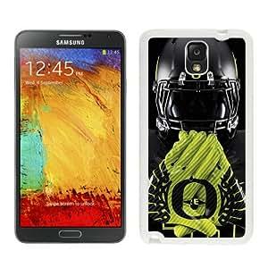 Oregon Ducks 03 White Custom Phone Shell Samsung Galaxy Note 3 Case Cool Design