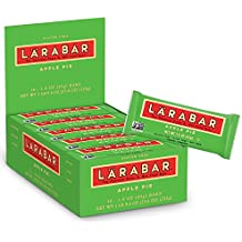 Larabar Gluten Free Bar, Apple Pie, 1.6 oz Bars (16 Count)
