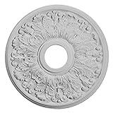 Ekena Millwork CM16AP 16 1/2-Inch OD x 3 5/8-Inch ID x 1 1/8-Inch Apollo Ceiling Medallion