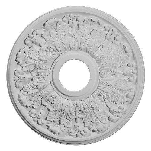 Apollo Ceiling Fan - Ekena Millwork CM16AP 16 1/2-Inch OD x 3 5/8-Inch ID x 1 1/8-Inch Apollo Ceiling Medallion