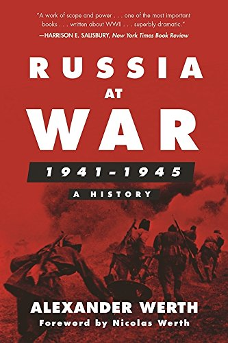 Russia at War, 1941–1945: A History cover
