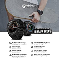 Lesgos Nuevo Zeblaze Thor 5 Dual SmartWatch, Zeblaze Thor Dual ...
