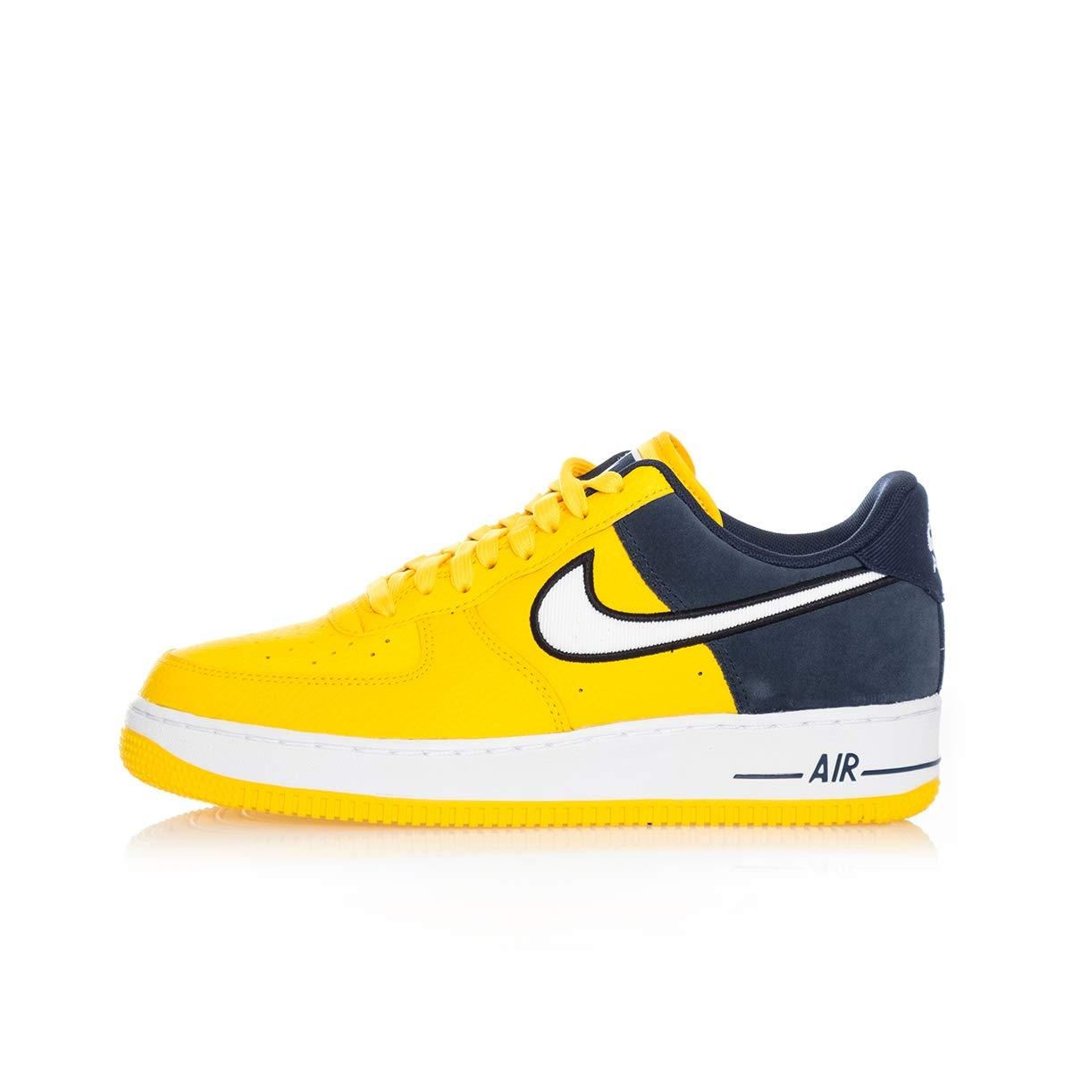 Nike , Herren Sneaker Gelb AmarilloWhite Obsidian Black