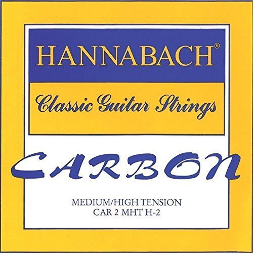 Hannabach CARBON Trebles, Medium/High Tension, 3-Treble Set