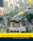 Basic Methods of Policy Analysis and Planning Plus MySearchLab with EText, Patton, Carl and Sawicki, David, 0205951619