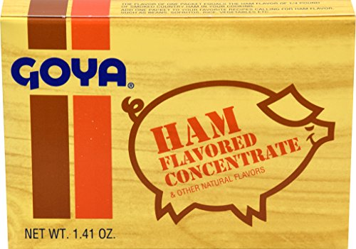 Goya Concentrated Ham Flavoring, 8-Count Packages (Pack of 36) (Flavoring Ham Goya)