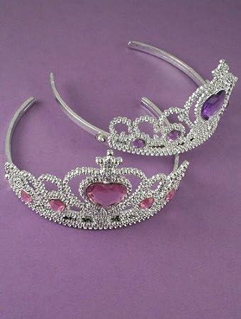 Amazon.com: Princesa/Queen Tiara Accesorio para disfraz por ...
