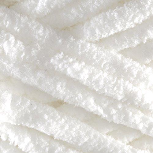 Bernat Baby Blanket Big Ball Yarn (04005) White