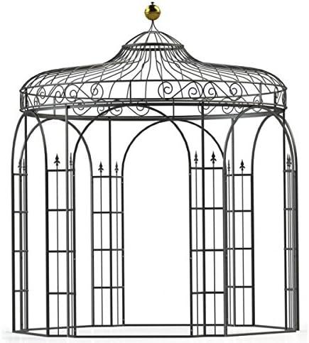Carpa pabellón de jardín, Cenador de metal, Cenador, hierro Carpa Antwerpen Diámetro 260 cm (Hierro Blank): Amazon.es: Jardín