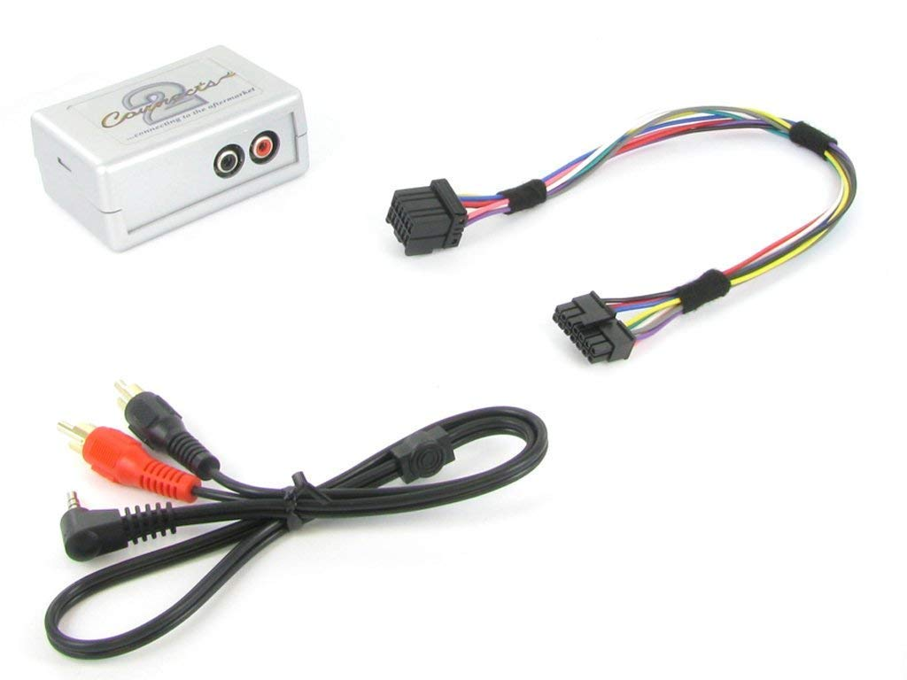 Connects2 CTVFOX001 Ford Fiesta Focus OEM Aux Input Adaptor Interface Escort Mondeo