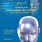 Einleitung in die Philosophie des Geistes | Georg Wilhelm Friedrich Hegel