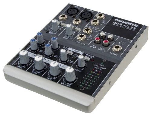 Mackie 402-VLZ3 | High-performance Vlz3 Series Ultra-compact Industry-standard Mixing Station, 402VLZ3 with High-headroom, Low-noise Design, and Modern Summing Bus Architecture (4-channel) by Mackie