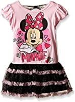 Disney Girls' Minnie Mouse Rulle Skirt Dress