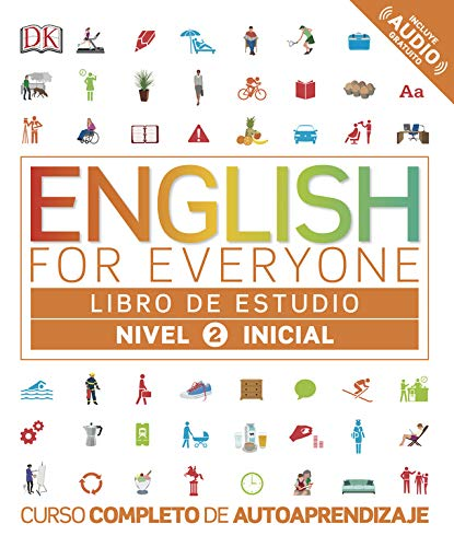 English For Everyone Libro De Estudio Nivel 2 Inicial Spanish Edition Varios Autores 9780241281673 Books