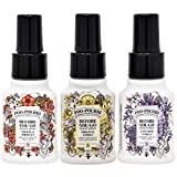 Poo Pourri Original Citrus, Lavender Vanilla, and Tropical Hibiscus 1.4 Ounce Set, Bottle Tag Included