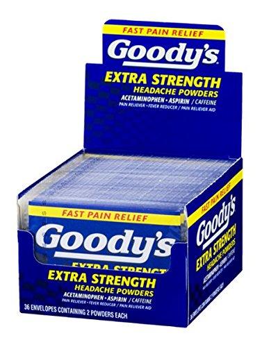 Goody's Extra Strength Headache Powders - 36/2 CT