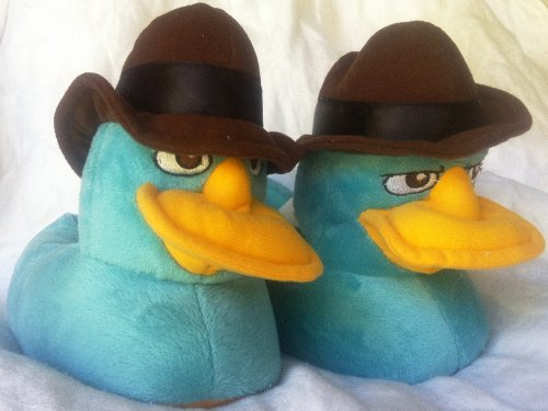 disney phineas and ferb agent p perry the platypus plush
