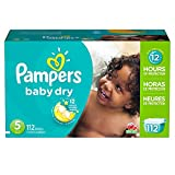 Baby : Pampers Baby Dry Diapers Size 5, 112 Count