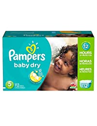 Pampers Baby Dry Diapers Size 5, 112 Count BOBEBE Online Baby Store From New York to Miami and Los Angeles