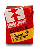 Equal Exchange Organic Coffee, Breakfast Blend, Ground, 12-Ounce Bag (Pack of 3)