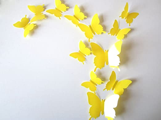 139 opinioni per ufengke® 12 Pezzi 3D Farfalle Adesivi Murali Fashion Design DIY Farfalla Arte