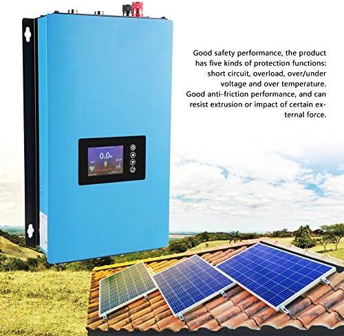 Naroote Wechselrichter, wasserdichter 1000W/2000W Solar Power Grid Tie Wechselrichter mit Limiter 110/220V(1000 W 22 60 VDC)