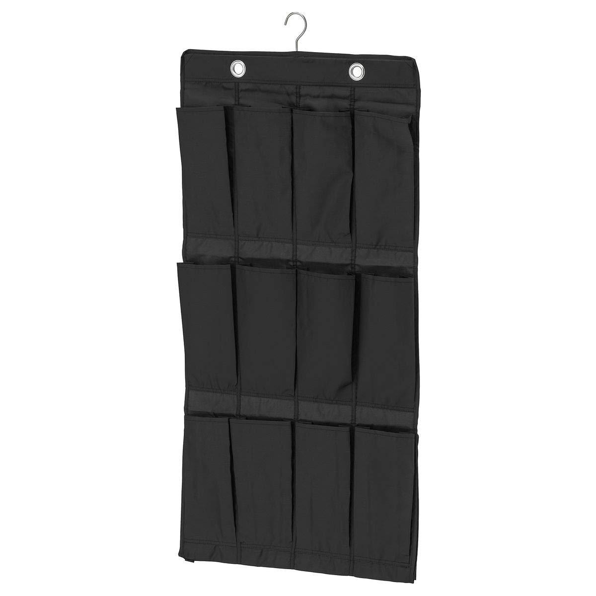 IKEA SKUBB - Colgante organizador de zapatos w 16 bolsillos, negro - 21x29x15 cm: Amazon.es: Industria, empresas y ciencia