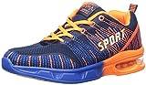 Cheap PAIRLERS Men's Air Cushion Jogging Running Shoes (8.5 B(M) US/EU 42, Blue-Orange)