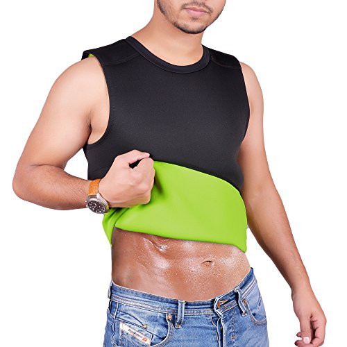 Mens+Tank+Tops Products : ARD Men's Body Shaper Sauna Vest Neoprene Tank Top Weight Loss, Burn More Fat and Produce Heat for Workouts Shapewear