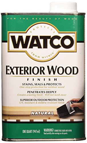 RUST-OLEUM WATCO 67741 Exterior Wood Finish, 1 ()