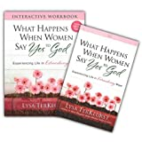 STUDY KIT What Happens When Women Say Yes to God: Experiencing Life in Extraordinary Ways | Book and Workbook By: Lysa TerKeurst - Harvest House Publishers