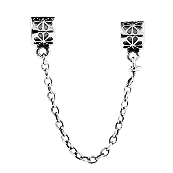 8 opinioni per TAOTAOHAS puro collana Link di sicurezza chiusure sterling 925 argento charms