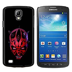 Jordan Colourful Shop - Darth Lord For S4 Active I9295 (Do Not Fit S4) Personalizado negro cubierta de la caja de pl????stico